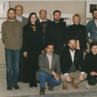 1996-97_Panevezyje_paroda_Danielius_Gabrenas__Karvelis_I_paskutiniai.jpg